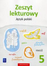 Zeszyt lekturowy Język polski 5 Szkoła podstawowa - Surdej Beata, Surdej Andrzej | mała okładka