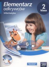 Elementarz odkrywców 2 Informatyka Zeszyt ćwiczeń + CD Szkoła podstawowa - Michał Kęska   mała okładka