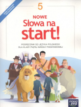 Nowe Słowa na start! 5 Podręcznik Szkoła podstawowa - Klimowicz Anna, Derlukiewicz Marlena   mała okładka