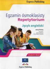 Egzamin ósmoklasisty Język angielski Repetytorium - Dooley Jenny, Sendor-Lis Bożena, Cholewa-Zawadzka Alicja | mała okładka