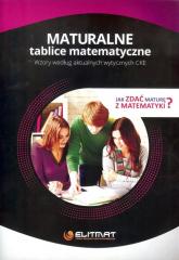 Maturalne tablice matematyczne - zbiorowa Praca | mała okładka