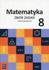 Matematyka 8 Zbiór zadań Szkoła podstawowa - Duvnjak Ewa, Kokiernak-Jurkiewicz Ewa | mała okładka