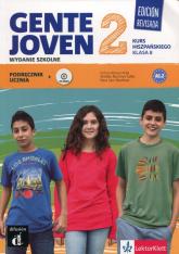 Gente Joven 2 Edision Revisada Język hiszpańki 8 Podręcznik z płytą CD Szkoła podstawowa -  | mała okładka