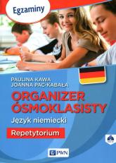 Organizer ósmoklasisty Język niemiecki Repetytorium - Kawa Paulina, Pac-Kabała Joanna | mała okładka