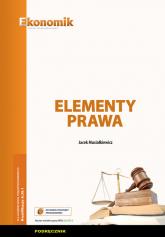 Elementy prawa Podręcznik - Jacek Musiałkiewicz | mała okładka