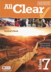All Clear 7 Student's Book Szkoła podstawowa - Howarth Patrick, Reilly Patricia, Morris Daniel | mała okładka