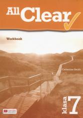 All Clear 7 Workbook - Catherine Smith | mała okładka