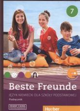 Beste Freunde 7 Podręcznik + CD Szkoła podstawowa - Georgiakaki Manuela, Bovermann Monika, Graf-Riemann Elisabeth | mała okładka