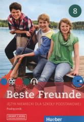 Beste Freunde 8 Podręcznik Szkoła podstawowa - Georgiakaki Manuela, Graf-Riemann Elisabeth, Seuthe Christiane | mała okładka