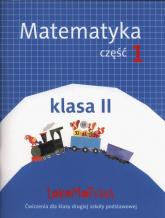 Lokomotywa 2 Matematyka Ćwiczenia Część.1 Szkoła podstawowa - Dobrowolska Małgorzata, Jucewicz Marta, Szulc Agnieszka | mała okładka