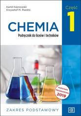 Chemia 1 Podręcznik Zakres podstawowy Szkoła ponadpodstawowa - Kaznowski Kamil, Pazdro Krzysztof M. | mała okładka