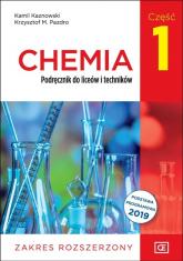 Chemia 1 Podręcznik Zakres rozszerzony Szkoła ponadpodstawowa - Kaznowski Kamil, Pazdro Krzysztof M. | mała okładka