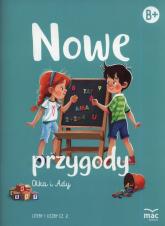 Nowe przygody Olka i Ady. Litery i liczby część 2 -  | mała okładka