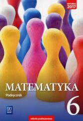 Matematyka 6 Podręcznik Szkoła podstawowa - Dubiecka Anna, Dubiecka-Kruk Barbara, Malicki Tomasz | mała okładka