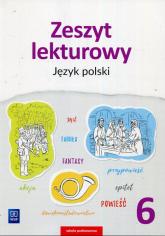 Zeszyt lekturowy Język polski 6 Szkoła podstawowa - Surdej Beata, Surdej Andrzej | mała okładka
