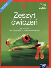 Puls życia Biologia 6 Zeszyt ćwiczeń Szkoła podstawowa - Fiałkowska-Kołek Magdalena, Gębica Sławomir, Siwik Agnieszka | mała okładka