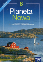 Planeta Nowa Geografia 6 Podręcznik Szkoła podstawowa - Rachwał Tomasz, Malarz Roman, Szczypiński Dawid | mała okładka