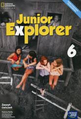 Junior Explorer 6 Zeszyt ćwiczeń Szkoła podstawowa - Reilly Patricia, Mrozik Marta, Wosińska Dorota | mała okładka