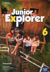 Junior Explorer 6 Podręcznik Szkoła podstawowa - Heath Jennifer, Crawford Michele, Mrozik Marta | mała okładka