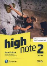 High Note 2 Student's Book Szkoła ponadpodstawowa i ponadgimnazjalna - Hastings Bob, McKinlay Stuart | mała okładka