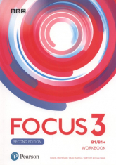 Focus 3 Workbook Szkoła ponadpodstawowa - Brayshaw Daniel, Russell Dean, Michałowski Bartosz | mała okładka