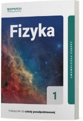 Fizyka 1 Podręcznik dla szkół ponadpodstawowych Zakres podstawowy Liceum i technikum - Adam Ogaza | mała okładka