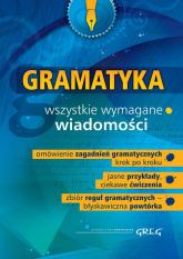Gramatyka szkoła podstawowa gimnazjum - Dorota Stopka | mała okładka