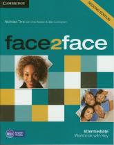 face2face Intermediate Workbook with Key - Tims Nicholas, Redston Chris | mała okładka