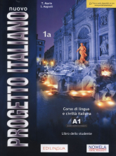 Nuovo Progetto Italiano 1A Podręcznik Szkoła ponadpodstawowa - Martin T., Magnelli S. | mała okładka