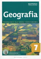 Geografia 7 Podręcznik Szkoła podstawowa - Chrabelski Marcin, Dudaczyk Magdalena   mała okładka