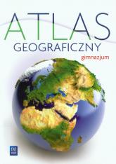 Atlas geograficzny gimnazjum - zbiorowa Praca | mała okładka