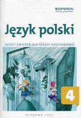 Język polski 4 Zeszyt ćwiczeń Szkoła podstawowa - Alicja Krawczuk-Goluch | mała okładka