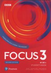 Focus Second Edition 3 Student's Book + CD Szkoła ponadpodstawowa i ponadgimnazjalna - Kay Sue, Jones Vaughan, Brayshaw Daniel, Michałowski Bartosz, Trapnell Beata, Michalak Izabela | mała okładka
