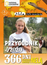Przygodnik 2019/2020 365 dni w poszukiwaniu groźnych zwierząt z Nelą - Mała Reporterka Nela | mała okładka