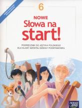 Nowe Słowa na start! 6 Podręcznik Szkoła podstawowa - Klimowicz Anna, Derlukiewicz Marlena | mała okładka