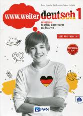 www.weiter deutsch 1 Podręcznik 7 Kurs kontynuacyjny + CD Szkoła podstawowa - Kozubska Marta, Krawczyk Ewa, Zastąpiło Lucyna | mała okładka