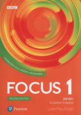 Focus Second Edition 1 Student's Book + CD Szkoła ponadpodstawowa i ponadgimnazjalna - Umińska Marta, Reilly Patricia, Siuta Tomasz, Michałowski Bartosz | mała okładka
