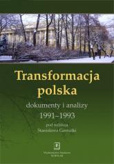 Transformacja polska Dokumnety i analizy 1991 - 1993 Dokumnety i analizy 1991-1993 -    mała okładka