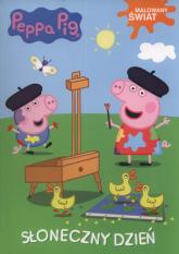 Świnka Peppa Malowany Świat Słoneczny dzień -  | mała okładka