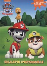 Psi Patrol Malowany świat Najlepsi przyjaciele -  | mała okładka