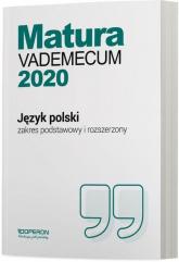 Język polski Matura 2020 Vademecum Zakres podstawowy i rozszerzony Szkoła ponadgimnazjalna - Donata Dominik-Stawicka | mała okładka