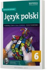 Język polski 6 Kształcenie językowe Podręcznik Szkoła podstawowa - Hanna Szaniawska | mała okładka