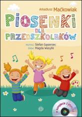 Piosenki dla przedszkolaków Książka + 2 CD - Arkadiusz Maćkowiak | mała okładka