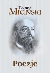 Poezje - Tadeusz Miciński   mała okładka