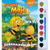 Pszczółka Maja Malowany świat Zabawa z kolorami -  | mała okładka