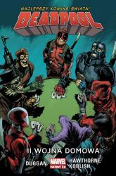 II wojna domowa Deadpool - Gerry Duggan | mała okładka