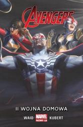 II wojna domowa Avengers - Mark Waid | mała okładka