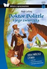 Doktor Dolittle Lektura z opracowaniem - Hugh Lofting | mała okładka