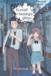 Kształt twojego głosu 3 - Yoshitoki Oima   mała okładka