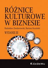 Różnice kulturowe w biznesie - Zenderowski Radosław, Koziński Bartosz | mała okładka